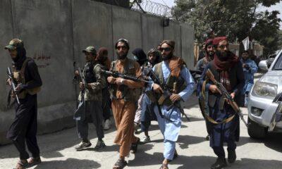 Foto: Talibanes en Kabul. AP